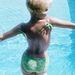 Mitzi Gaynor zöld bikiniben az ötvenes években