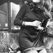 1970: Diana Rigg színésznő (Bosszúállók) a papagájával