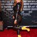 Lil' Kim a Video Music Awardson a fotófal előtt