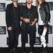 Jared Leto és a 30 Seconds to Mars másik két tagja a Video Music Awardson a fotófal előtt