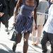 Naomi Campbell szalad a Lincoln Centerbe egy divatbemutatóra