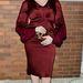 Christina Hendricks egy nappal korábban, szintén a New York-i divathéten