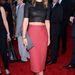 Olivia Wilde a 2013-as ESPY Awardsra érkezett térd alá érő szoknyában és haspólóban a Los Angeles-i Nokia Theatre-be, július 17-én.