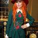 Paloma Faith zöldben a Marie Claire magazin partiján a londoni divathét alatt