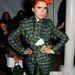 Paloma Faith zöldben a Vivienne Westwood Red Label divatbemutatóján Londonban