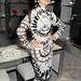 Paloma Faith fekete-fehérben Tom Ford üzletmegnyitóján a londoni divathét alatt