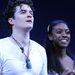 Orlando Bloom és Condola Rashad a színpadon