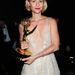 Claire Danes 2013 szeptemberében egy frissen nyert Emmy-díjjal