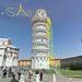 A Pisai ferde torony, Olaszország, Pisa