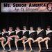 The New York Seasoned Steppers előadása, közöttük is vannak korábbi szépségversenyzők