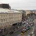 A szép sárga házban működött egykor a Scala-Metro, majd Szikra mozi.