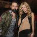 Joanna Krupa a Grammy-kiosztó estéjén január 24-én A.J. McLeannel a Backstreet Boysból