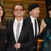 Az egész U2 ott volt az Oscaron, feleségeikkel. Enyhén szólva kilógtak a sorból