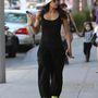Így mászkál Michelle Rodriguez Los Angelesben az utcán a januári hűvösben
