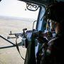 Szakharcászat helikopterről
