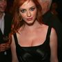 Christina Hendricks a Mad Men első évadjának premierje alkalmából tartott bulin, 2007. július 15-én