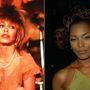 Tina Turner – Angela Bassett. 1993-ban készült film Tina Turner hányattatott életéről, amiben helyette Angela Bassett szenvedte végig, amin a későbbi rocknagymamának át keresztül kellett mennie a világsztárságig. Tina Turner tehetségéhez nem fér kétség, de el kell ismerni, hogy Angela Bassett jobban néz ki nála