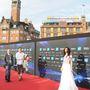Az érkezés május negyedikén, a 2014-es Eurovíziós Dalfesztivál hivatalos megnyitóján