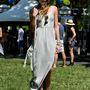 Lauren Gould divattervező is megjelent a 2014 Governors Ball Music Festival utcai divatot propagáló rendezvényén a New York-i Randall's Islanden.