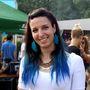 Kék haj-alj.